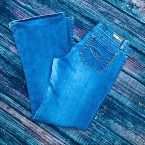 ROXY | flare blue jeans | size 9 juniors